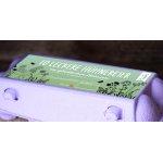 10er Etiketten Hühnereierschachteln