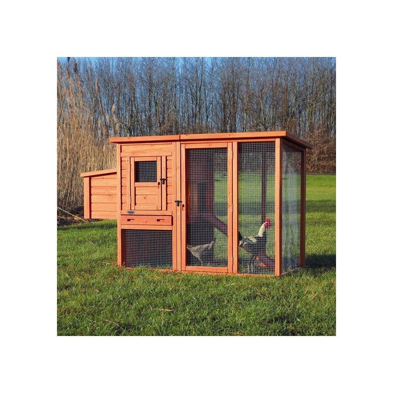 h hnerstall mit freilauf 299 00. Black Bedroom Furniture Sets. Home Design Ideas