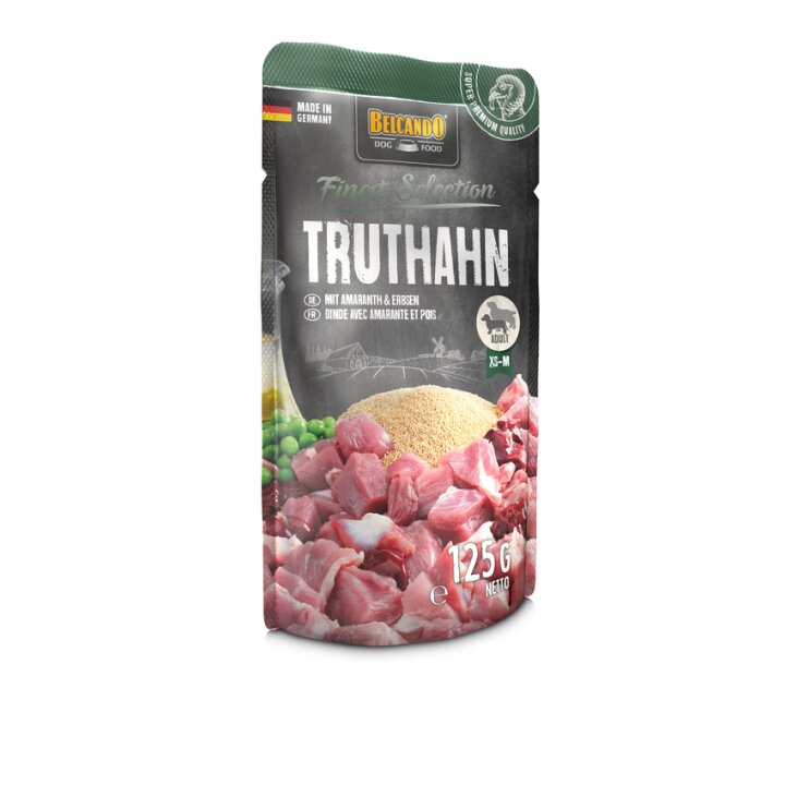 Belcando Finest Selection Truthahn mit Amaranth & Erbsen 12x125g