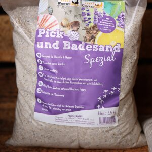 Pick-Badesand Spezial 2,5 kg | ChickenGold®